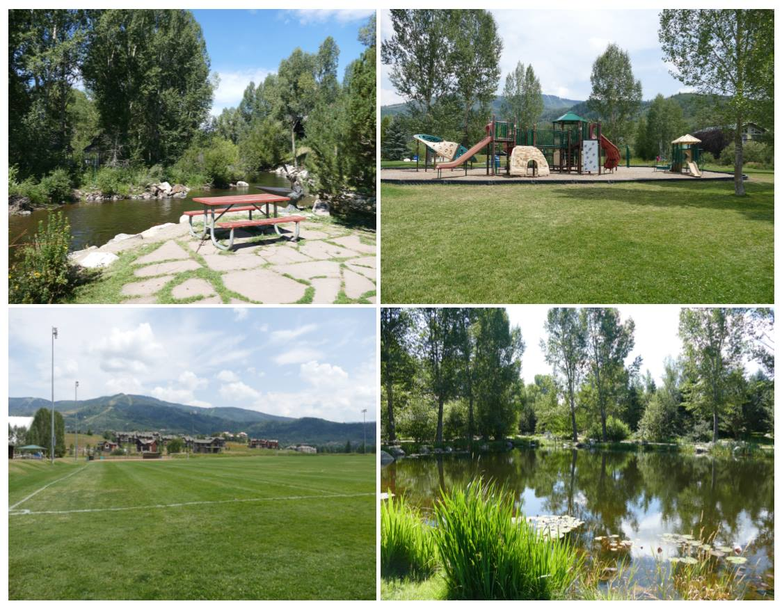 Park Picture Collage of four park images