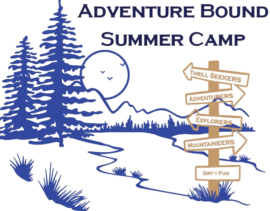 Adventure Bound Summer Camp woth moon and arrows