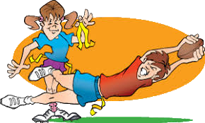 youth flag football cartoon