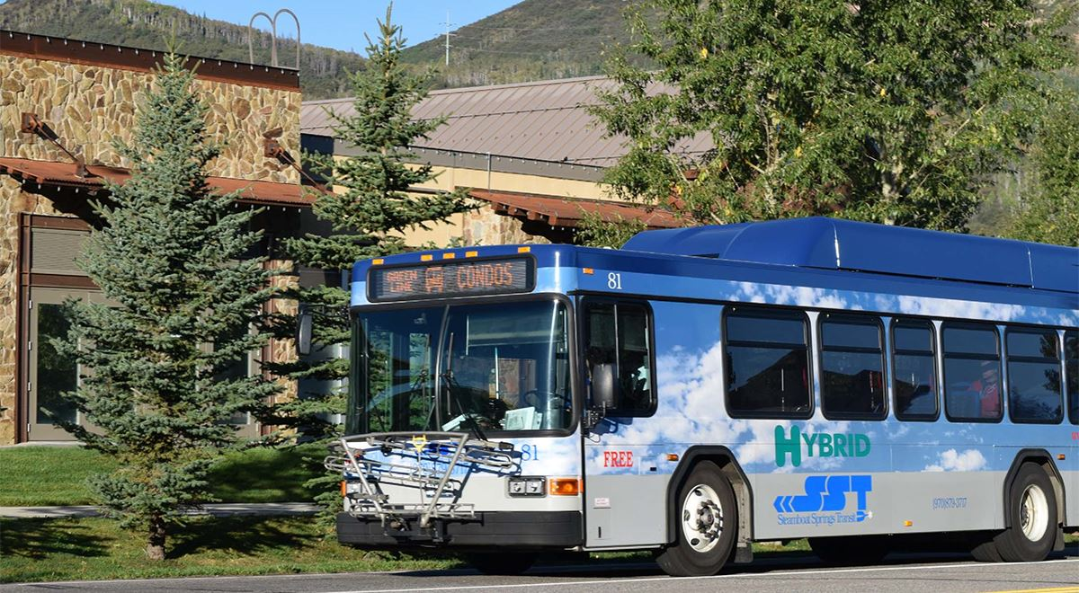 Steamboat Springs summer bus