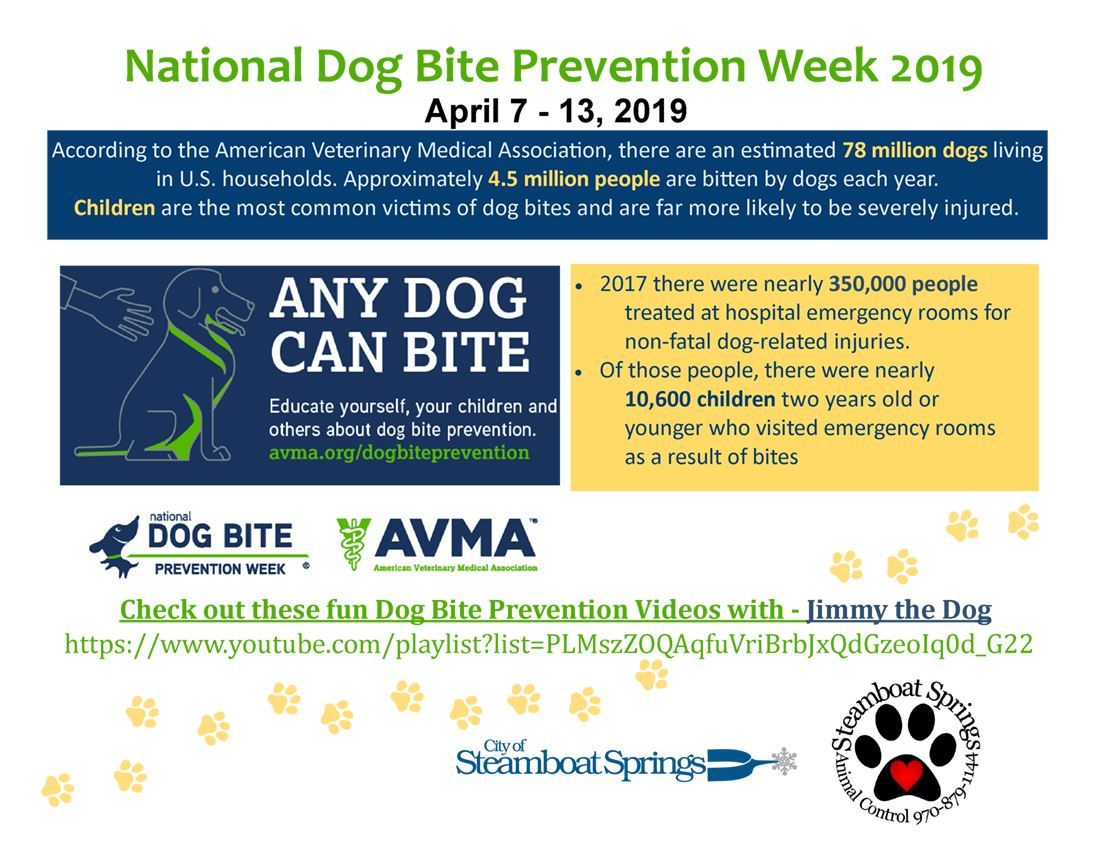 2019 Dog Bite Prevention Week - Kids 1