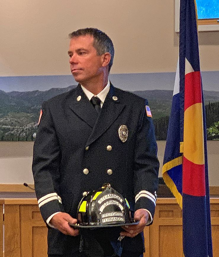 Deputy Fire Chief Wilkinson NewsFlash
