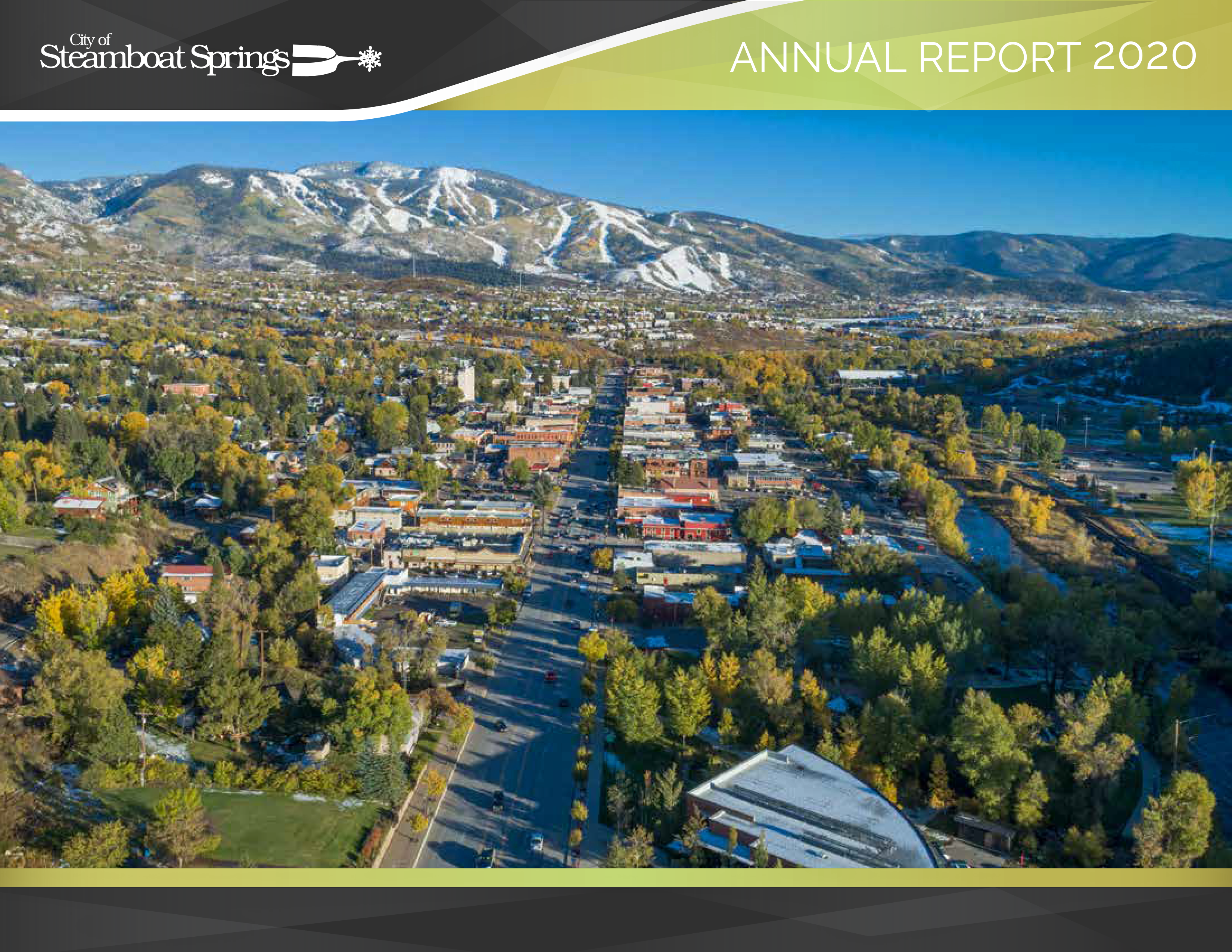 City Annual Report 20 Cover