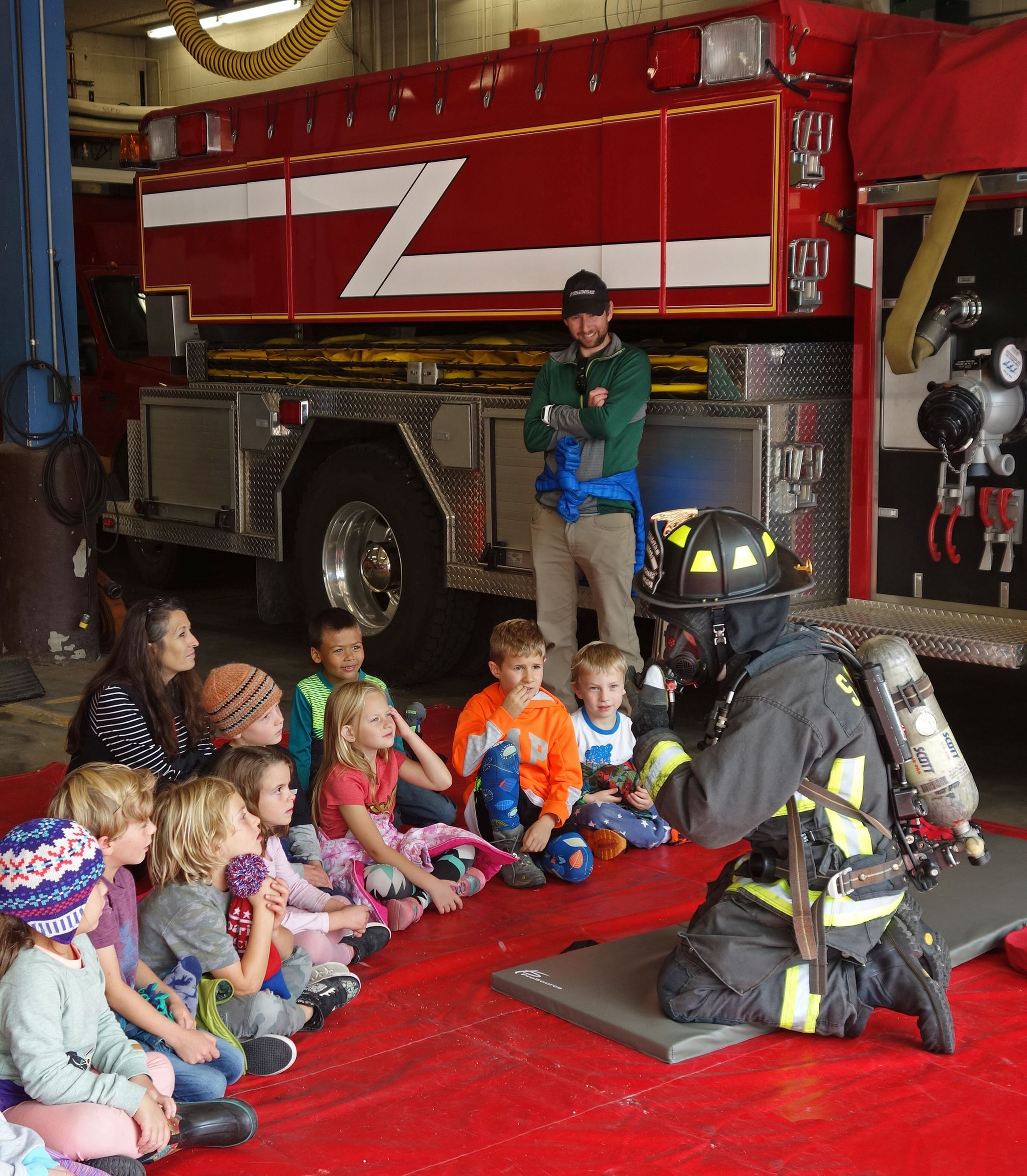 Fire Prevention Week Demonstration
