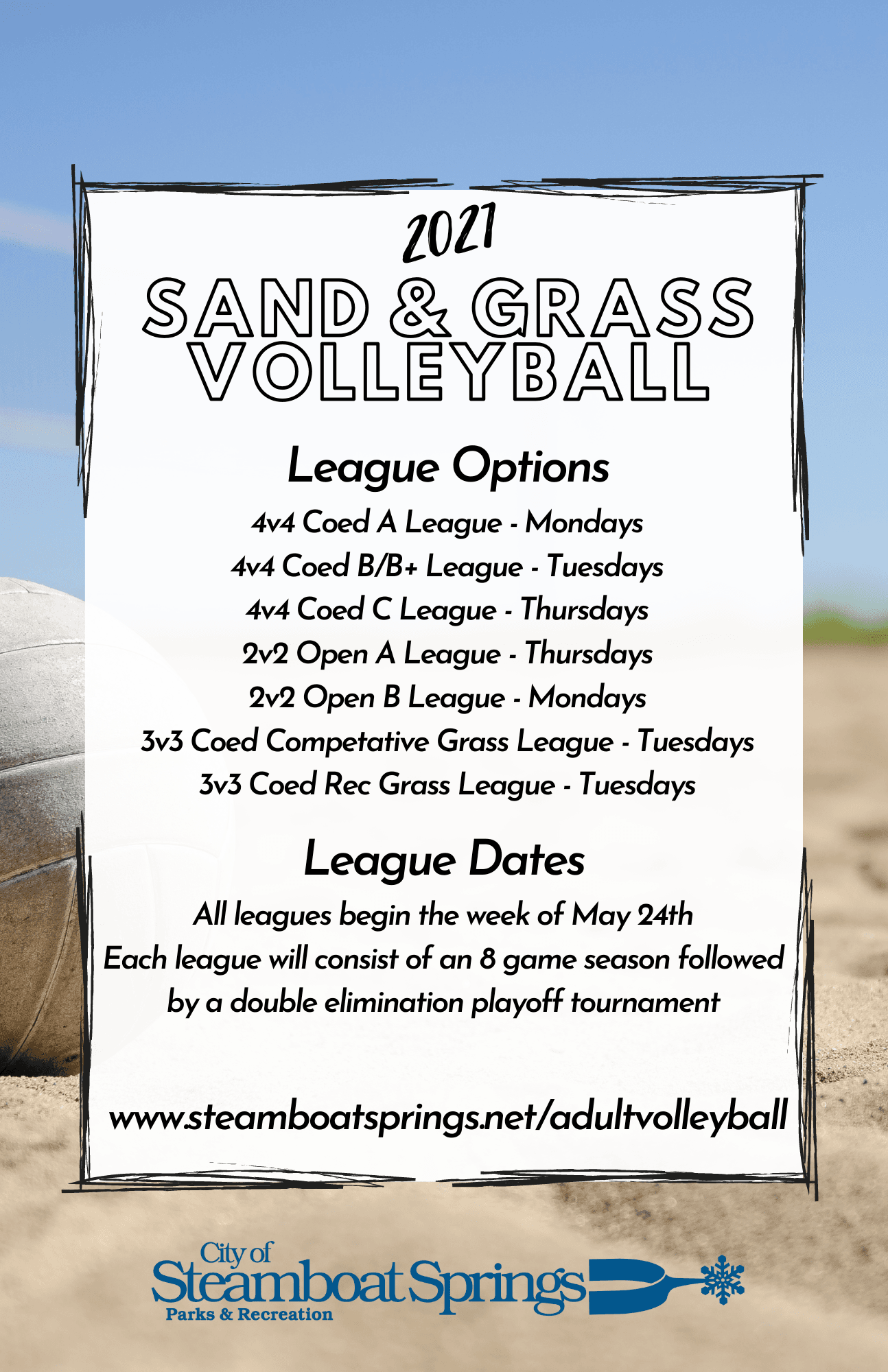 Summer Volleyball Flyer